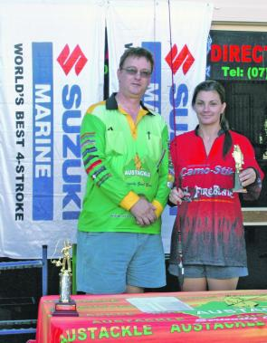 Elloise Paraskevopoulos was crowned the Champion Female angler, or Queen of Moreton Bay.