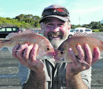 There are a few pan snapper over the reefs this month.
