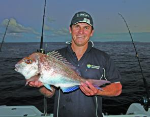 Pan size snapper are the best for eating. For quality snapper, times are better suited to early mornings and late afternoons, before the wind comes on.