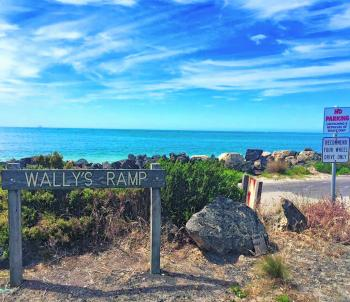 Wally's Ramp is the place to launch to access the pristine North Shore fishing grounds. Make sure your vehicle is suited to the ramp, as smaller 2WD have been known to get stuck!