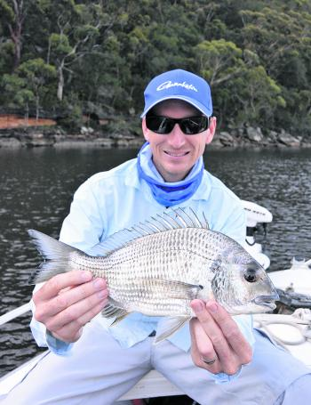 Bream will be pushing back upstream this month hunting on the flats, reefs and rock walls.
