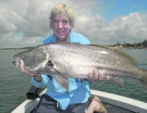 Jewfish are always a welcome catch, but it's common to get smashed by jacks while targeting them.