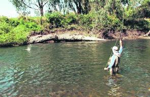 The trout season on creeks and rivers opens up on October 5 and after several months without seeing a lure or fly, the trout should be easy to catch.