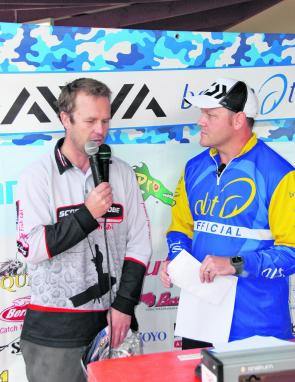 Scott Baker explained to livestream viewers and spectators at the event how he did it in the west.