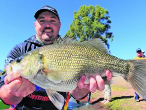 Rob March came close to breaking the ABT Big Bass record (3.65kg) with his 3.56kg Big Bass.
