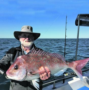 Snapper are a good fish to target in July.