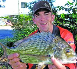 Bream numbers have increased in the deeper waters as these fish begin to spawn.