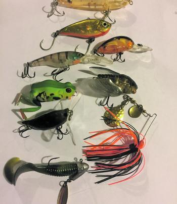 Try a handful of lures like these for a mission to the upper reaches and backwaters of the tweed.