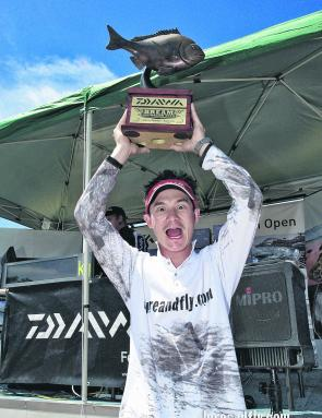 Ian Seeto was a deserving and popular winner of the Daiwa BREAM Australian Open.