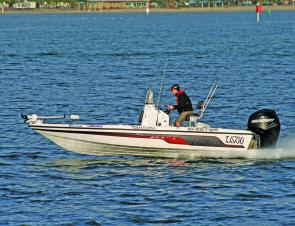 The Skeeter ZX20 Bay is versatile enough to chase bream in the racks, bass among the snags, lizards on the flats, kingfish and mulloway in the big bays and snapper and even billfish offshore.