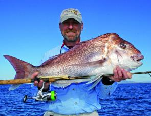 "The snapper grounds are red-hot, Chris Blanch has been nailing them on 5"" and 7"" Berkley Jerk Baits."