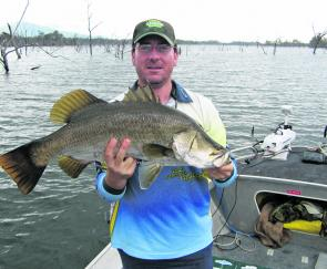 Daryl Pead was the winner at Teemburra, catching the only five fish of the event to secure the win.
