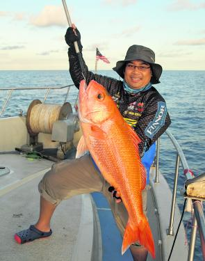 Ruby snapper are a prized capture due to their excellent eating qualities.