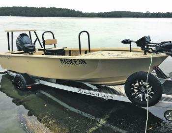 Even single-handed boat launching and recovery shouldn't be too hard, especially if you have a prior plan. Of course, a good drive-on trailer helps, too!