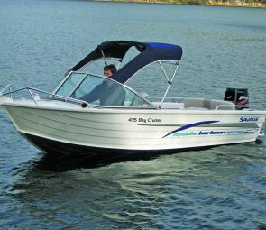 Pics of this Bay Cruiser were supplied by Middle Harbour Marine.
