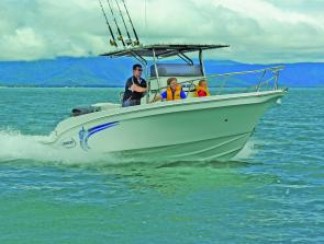 The high sides, walk round configuration and eye catching lines make the Pro Fisherman perfect for the offshore sportfisher who also wants a boat that is equally at home around the resorts and impoundments with the family.
