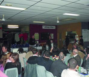 The Charlestown Anglers Club inaugural presentation night was a big success.