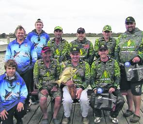 There is a club team sponsored section, where other clubs from around the area, or distant shores, can try their luck at out-fishing the GLFC members!
