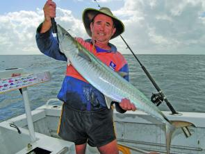 You never know, you might just pick up a stray Spanish mackerel off the 'Gong this month.