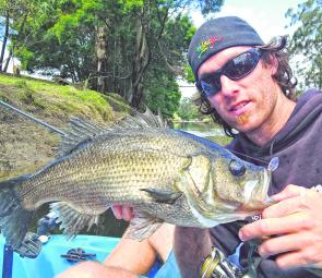 Mitch Chapman with yet another huge East Gippsland perch.