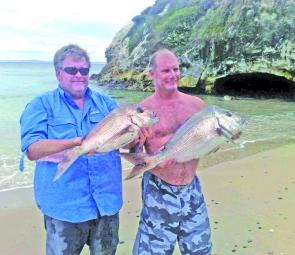 Snapper have dominated the Hunter fishing scene lately and everybody is hoping the trend will continue.