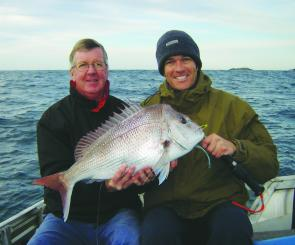 Snapper have been lingering over the inshore reefs.
