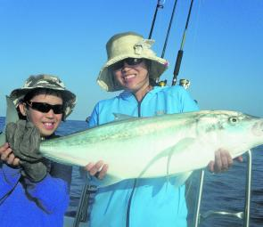 Tag team trevally – fun for the whole family!