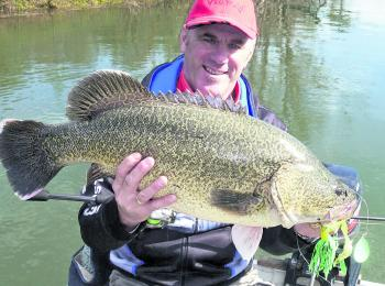 A great cod taken from the top end of the dam.