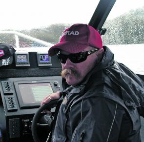 Stan had great fun hunting for U-boats on the SIMRAD NSS-12.