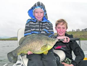 Dean and Murray are very keen on fishing Lake Windamere; they are like two sponges in the boat soaking up every bit of information that gets handed on. The author reckons he now holds back a smidgen just so he can keep in front…