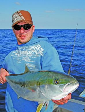 Jigging along the NSW coast is mainly about kingfish, but others that will get in on the act include bonito, samson fish, amberjacks, tuna and annoying pests like leatherjackets and barracouta.