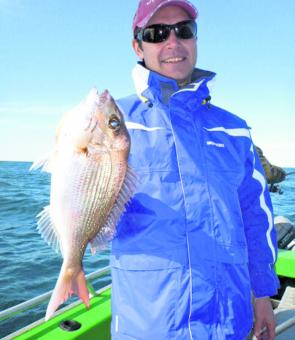 Snapper have been more common on the southern grounds but it's a long way in a small boat.