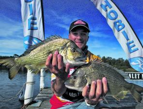 Russell Babekuhl showed he's the bream master at St Georges Basin, claiming his second win in as many years.