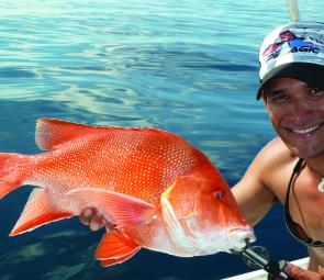 The recent red fishing has been sensational – it's just what we need when the reef fishing shuts down.