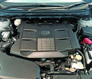 The 3.6L Boxer engine is an impressive power plant.