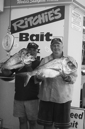 March is a great month to try for some quality snapper like these.