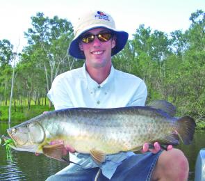 Borumba is best known for its large population of southern saratoga and most anglers venturing to the dam have the species high on their 'to catch' list.