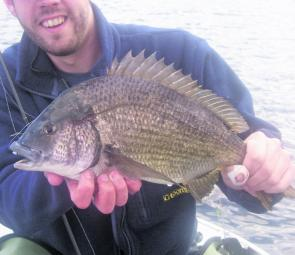 Bream are on the agenda now that the weather and water has warmed up a bit.