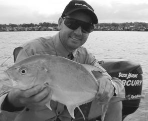 Trevally are around the walls at the mouth of the Clarence River throughout summer.