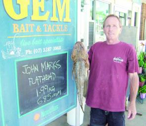 Regularly featured local John Marks with another Logan River lizard.