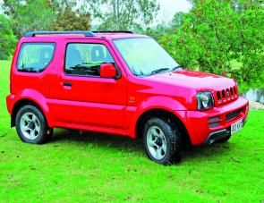The Jimny might be a compact four wheel drive but it packs a mean off-road punch.