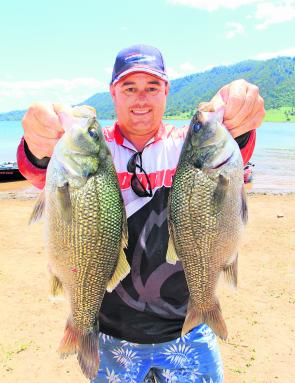 Adrian Melchior won the BASS Pro Qualifier at Lake Glenbawn with a total bag of 6/6, 7.38kg.