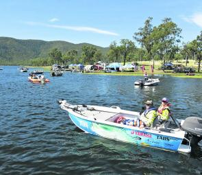 The event attracted anglers from far and wide, with some entrants travelling from as far away as the Gold Coast and even NSW.