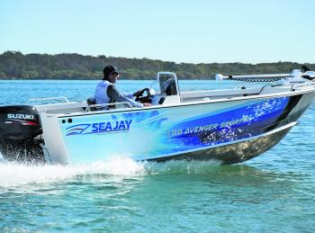 Depending on options, a Sea Jay Avenger package like this will set you back somewhere in high twenties to low thirties. And then it'll give you 4km/L fuel economy.