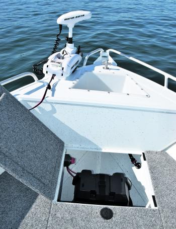 It's not rocket science to build a boat with traditional and virtual anchoring systems to work side-by side.