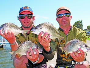 Kris Hickson and Daniel Brown from Team Manning River Marine finished the year as the number one BREAM Classic team with victory in the Skeeter Boats BREAM Classic Championship.