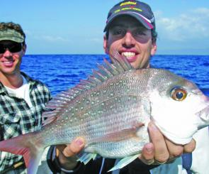 One of the better Reds caught down south. Woudn't it be great if small boats didn't have to travel so far for snapper?