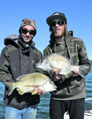 Quality bream will be on the rock walls, reefs and flats this month.