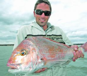 A cracker snapper take while on Think Big Charters. (Photo supplied by Gawaine Blake)