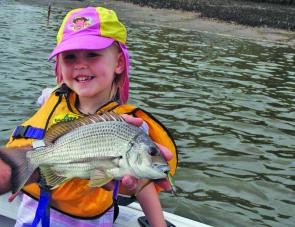 Bream are the most reliable fish to chase at the moment.
